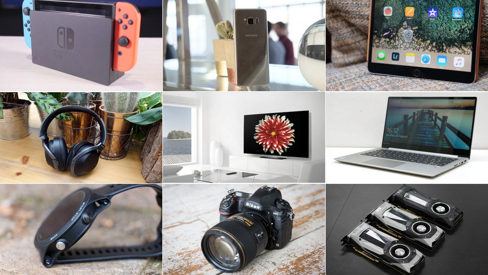 بهترین لپتاپ، تبلت، گوشی، تلویزیون، دوربین، هدفون و پهپاد ۲۰۱۷ را بشناسید