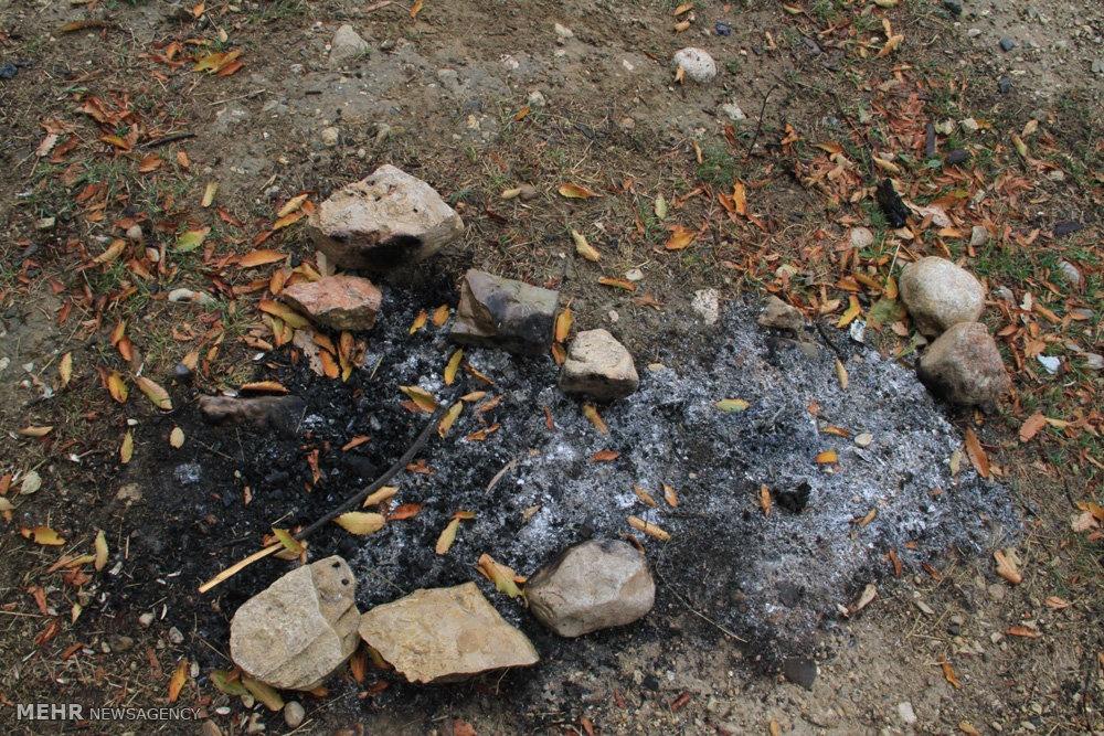 تصاویر   پاکسازی بخشی از جاده آسیایی در پارک ملی گلستان