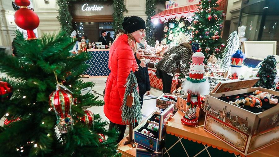 تصاویر | کریسمس در میدان سرخ مسکو