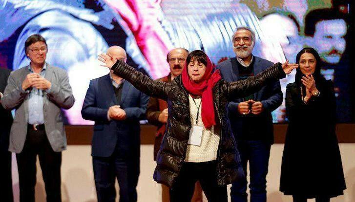از بازیگر معلول ایتالیایی در همدان قدردانی شد