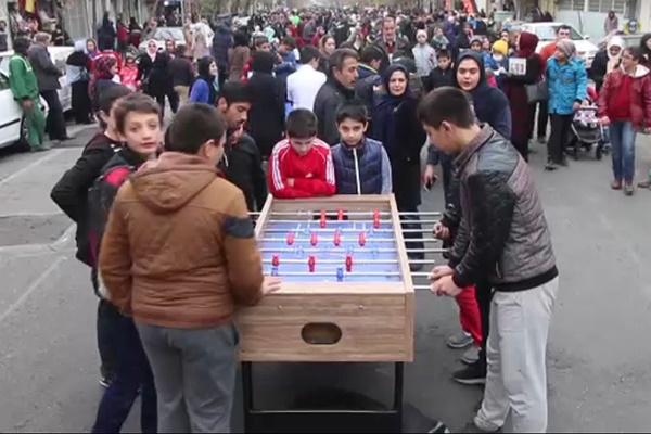 فیلم | گزارش یورونیوز از جشنواره بازیهای خیابانی کودکان تهرانی