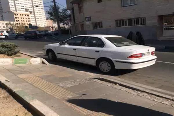 فیلم | دردسرهای ناتمام پیادهروی در تهران