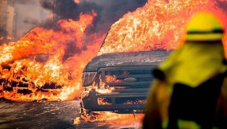 تصاویر | آتشسوزی مهیب در جنگلهای کالیفرنیا | جهنمی مهارنشدنی