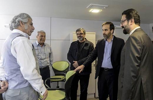 بازدید معاون هنری جدید وزیر ارشاد از تئاترشهر