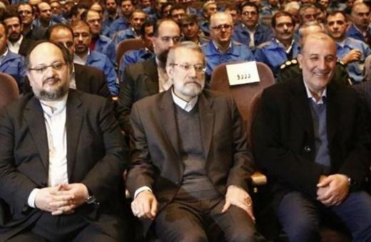 فیلم | انتقاد لاریجانی از ایمنی خودروهای داخلی | روی صندلی خودرو ایرانی کمردرد میگیریم!