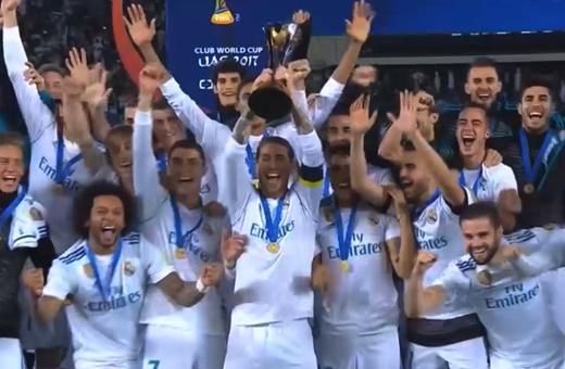 فیلم   رکورد قهرمانی فوتبال در جهان برای رئال مادرید