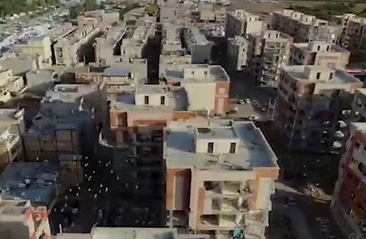 فیلم   نمایی دیدهنشده از مناطق زلزلهزدۀ کرمانشاه