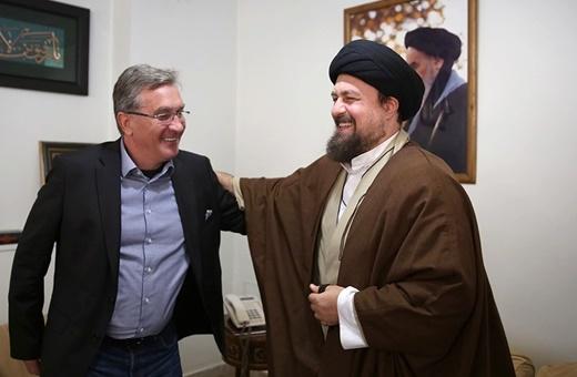 فیلم | حضور برانکو در بیت امام(ره) و دیدار با سیدحسن خمینی