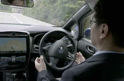 آزمایش تاکسیهای خودران نیسان در ژاپن