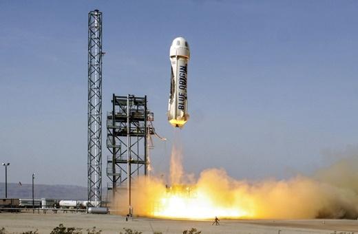 آزمایش موفق نسخه دوم کپسول بلواوریجین با قابلیت حمل مسافر/قدم بزرگ برای گردشگری فضایی