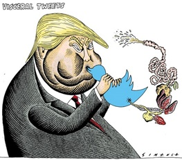 دونالد ترامپ,طنز