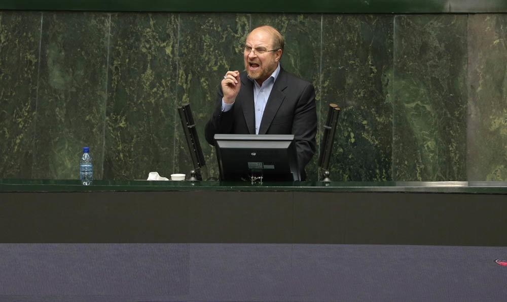 گزارشقالیباف از پلاسکو در مجلس؛ کلیبود، عذرخواهی هم نکرد