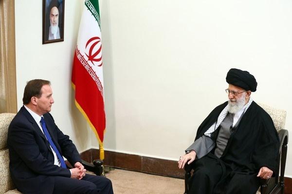 تصاویر | دیدار نخستوزیر سوئد با رهبر معظم انقلاب اسلامی
