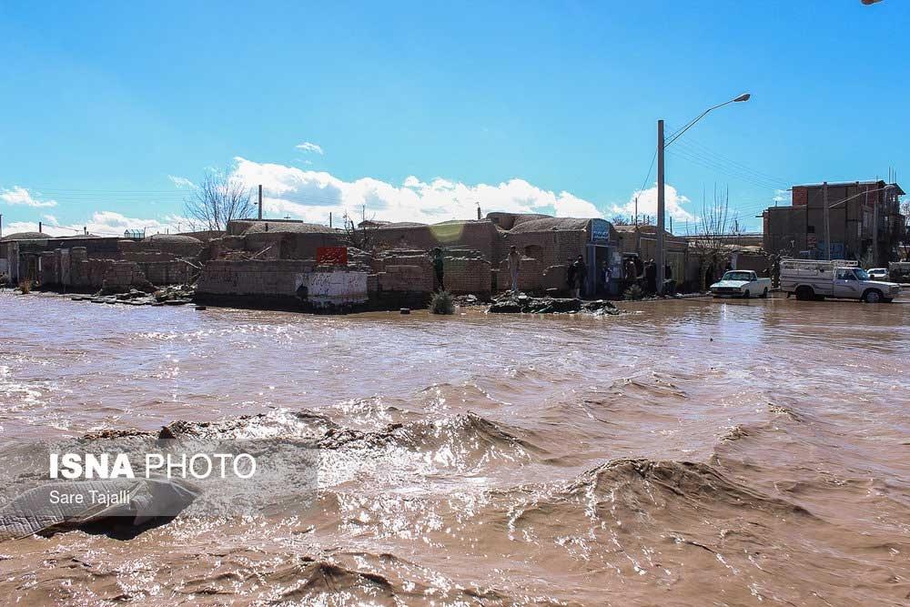 تصاویر /سیل در شهرستان بردسیراستان کرمان