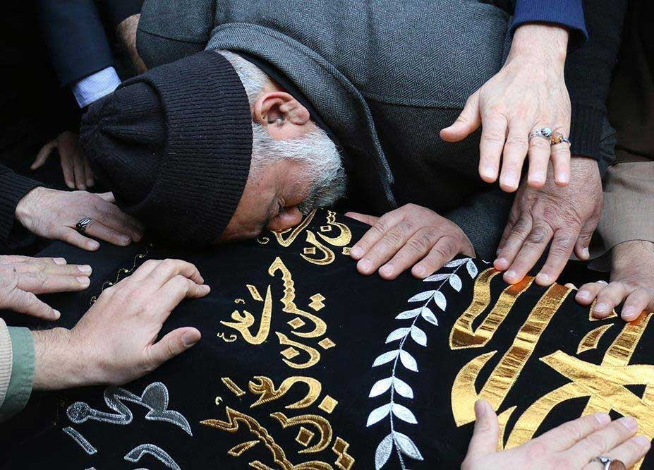 تصاویر | مراسم تشییع والده سردار نقدی