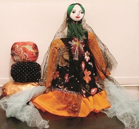 لیلی ۲۰۰ ساله مردم فارس؛ شادترین عروسک سنتی ایران