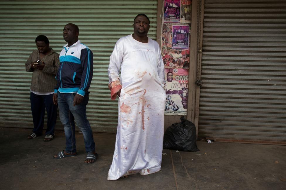 تصاویر | راهپیمایی به سبک معترضان آفریقای جنوبی