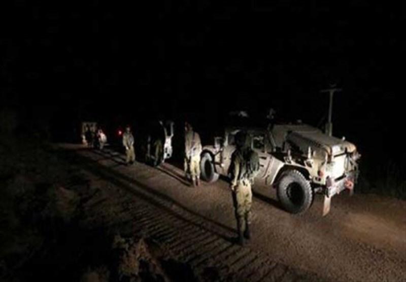 فیلم | تصاویری از جاسوسی شبانه رژیم صهیونیستی در خاک سوریه