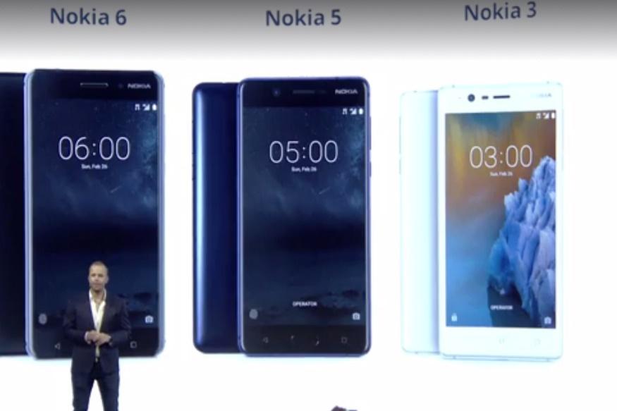 رونمایی از نوکیا ۶، ۵ و ۳ در کنفرانس جهانی موبایل