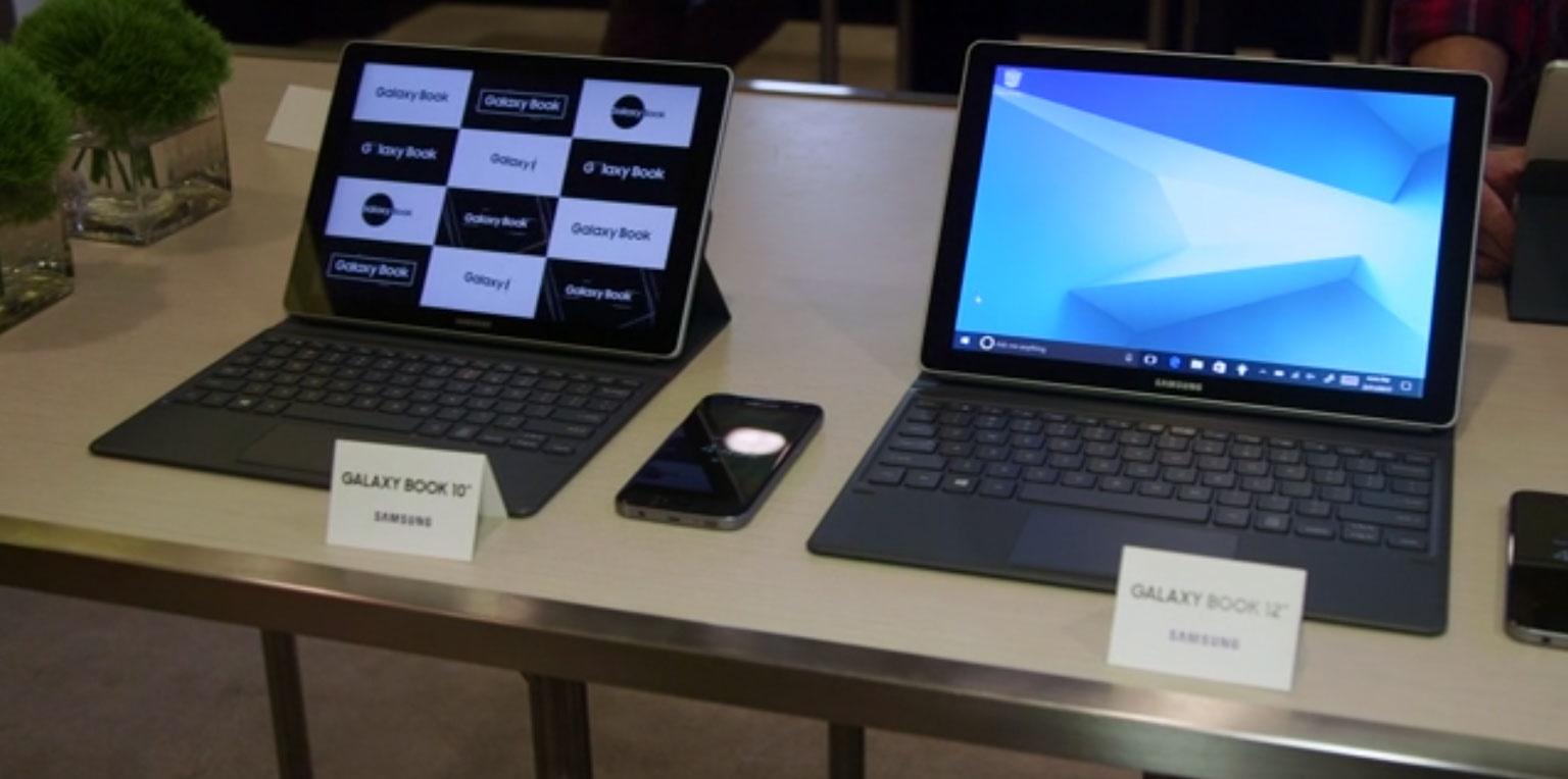 رونمایی از تبلت ویندوزی گلکسی بوک سامسونگ در کنفرانس جهانی موبایل
