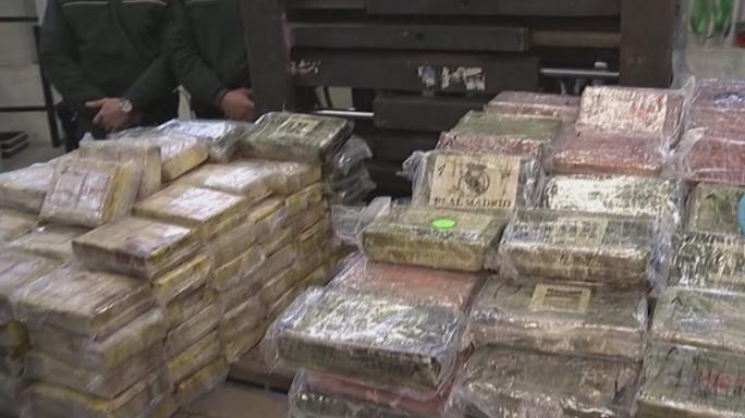 فیلم   کشف بزرگترین محموله کوکائین در آلمان
