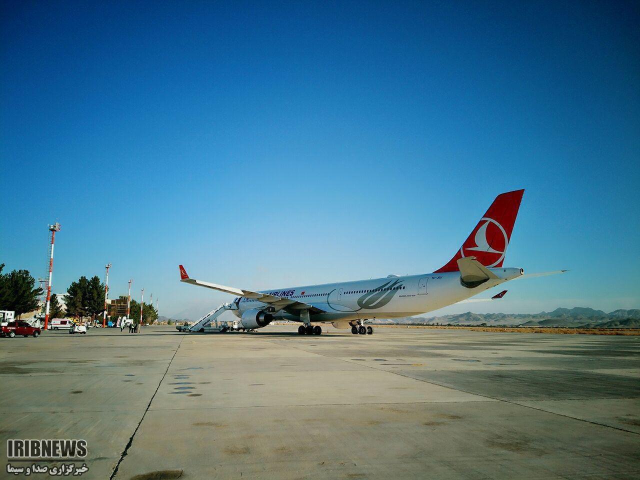 فرود اضطراری هواپیمای ترکیشایر در فرودگاه زاهدان