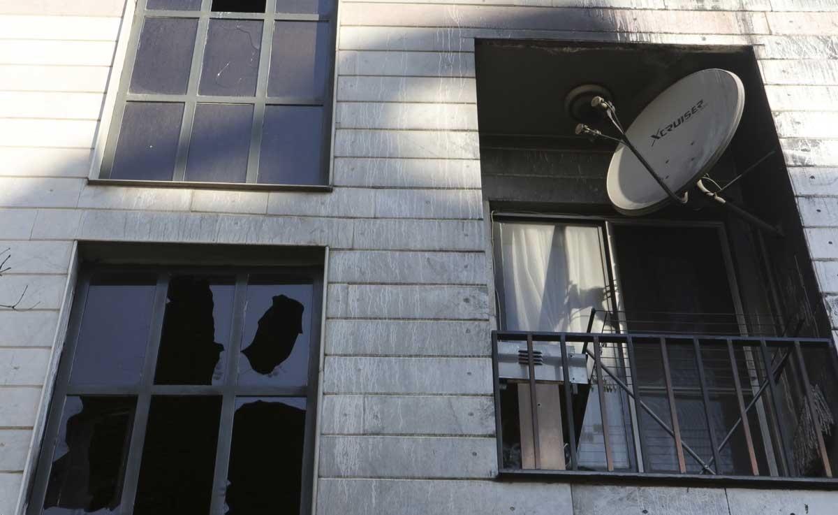 تصاویر   آتشسوزی در شمال غرب تهران   یک نفر جان باخت