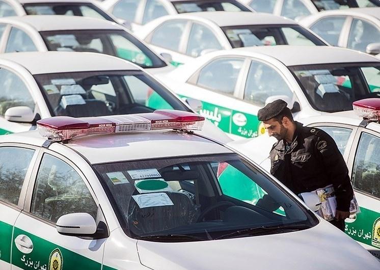 تصاویر | مراسم رونمایی خودروهای سراتو ناوگان پلیس پایتخت