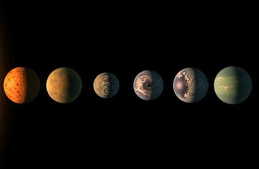 خبر هیجانانگیز ناسا که همه را شگفتزده کرد:کشف ۷ سیاره سنگی شبیه به زمین!