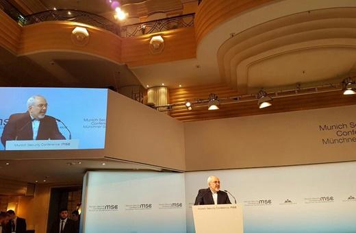 متن کامل سخنرانی ظریف در کنفرانس امنیتی مونیخ/ توصیه وزیر خارجه به کشورهای عربی
