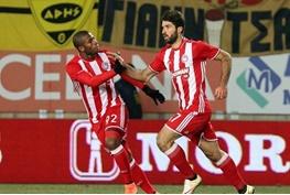 لیگ اروپا دوباره مبهوت درخشش یک ایرانی/انصاریفرد دو گل برای المپیاکوس زد