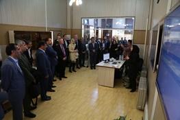 حضور معاون وزیر امور اقتصادی، انرژی و صنایعیکی از ایالتهای آلمان در شرکت آبفای استان اصفهان