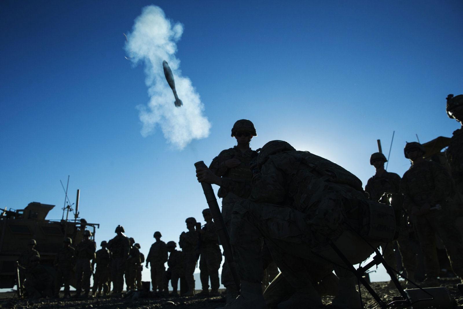 خمپارههای جدید آمریکایی منفجر نمیشوند / عکس