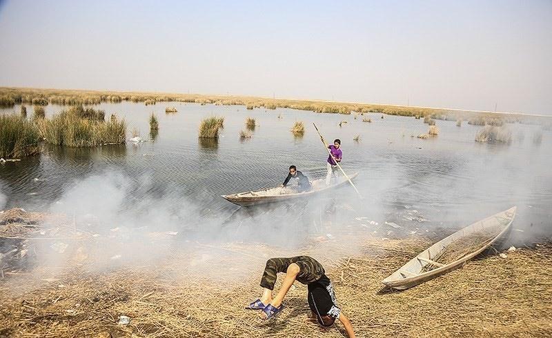 تصاویر | تالاب شادگان در آستانه نابودی