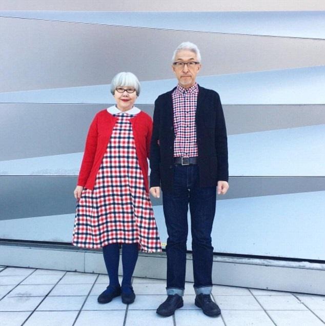 تصاویر | زوج خوشتیپی که ۳۷ سال است لباسهایشان را با هم ست میکنند