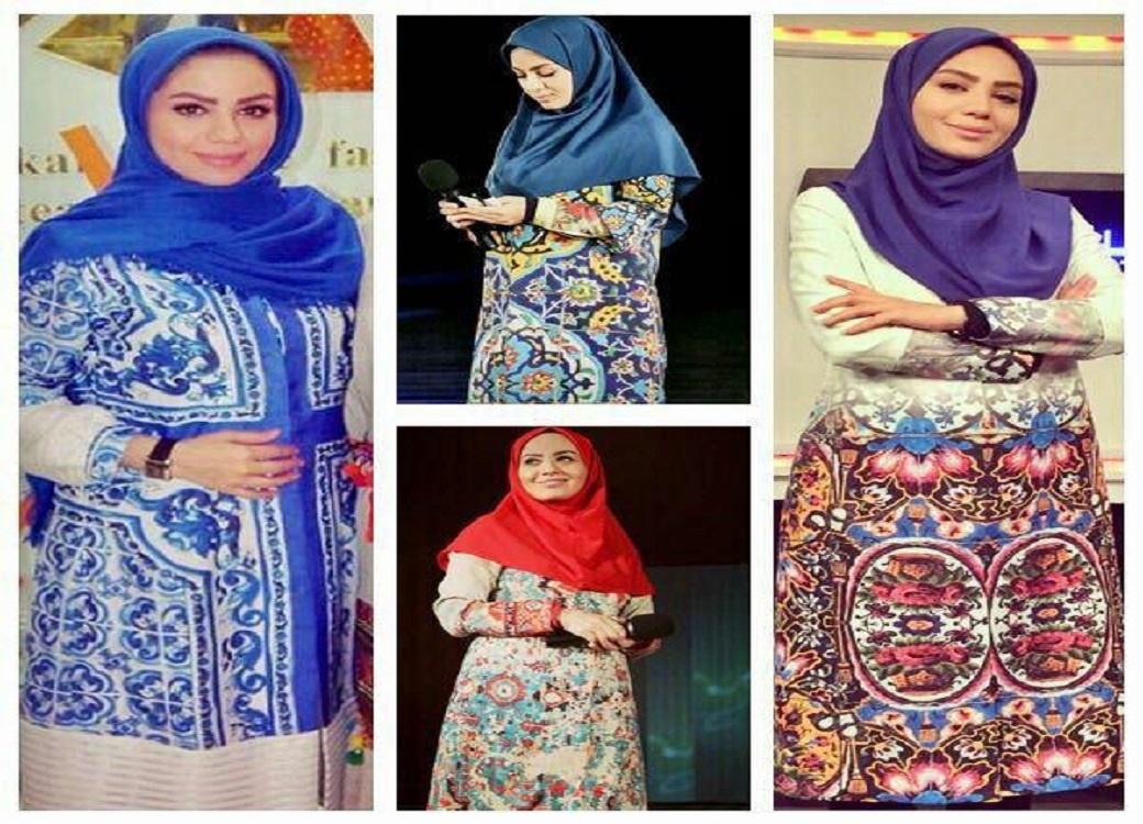 تقدیر از مجری زن تلویزیون به دلیل استفاده از پوشش ایرانی