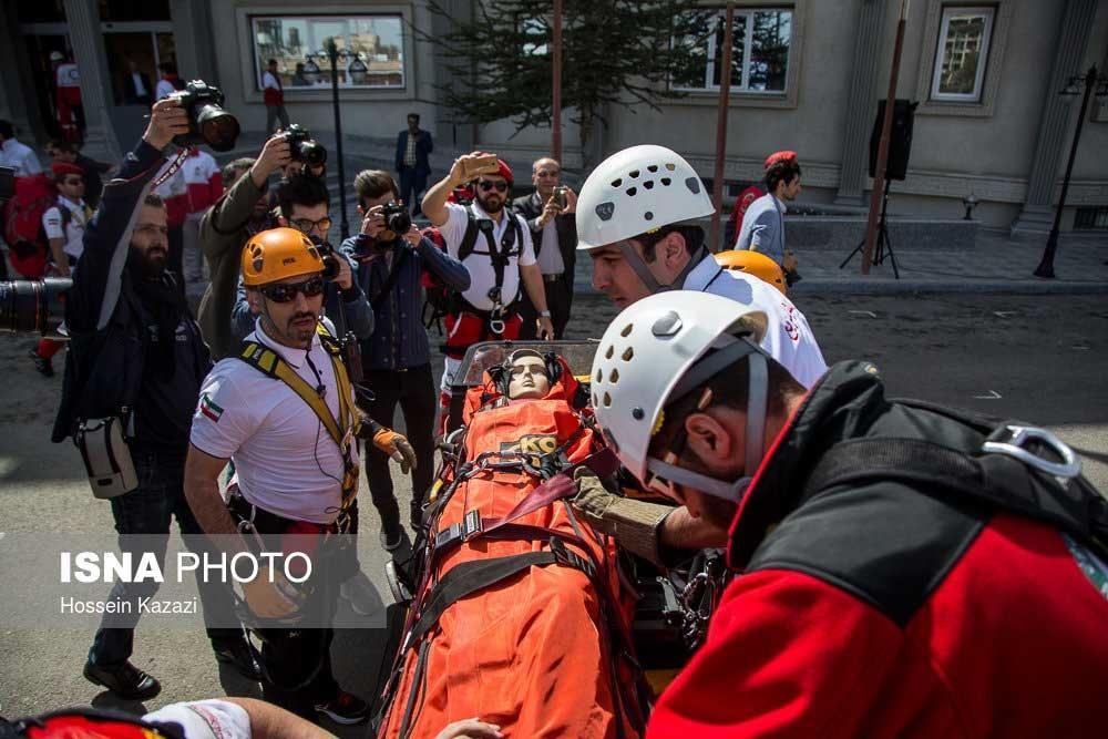 تصاویر | مانور طرح ملی امداد و نجات نوروزی