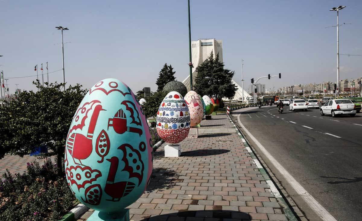 تصاویر | تهران اینگونه به استقبال بهار میرود