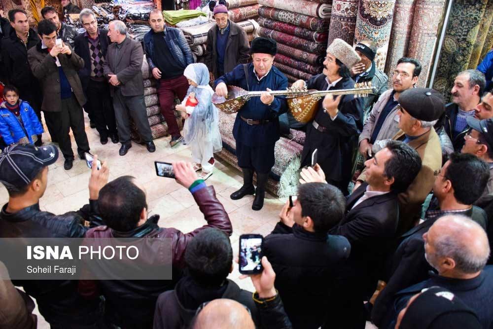 تصاویر | در حوالی نوروز | شادباش و پیشواز عید در خطه آذربایجان