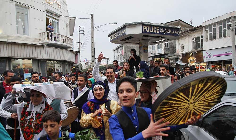تصاویر   مژده بهار به سبک اهالی مازندران
