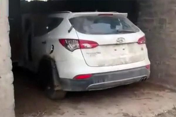 فیلم | کشف و انهدام یک خودروی بمبگذاری شده داعش