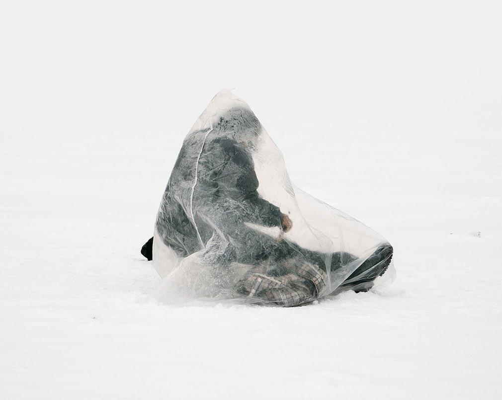 تصاویر | روش عجیب ماهیگیران قزاق برای صید در دمای منفی ۴۰ درجه
