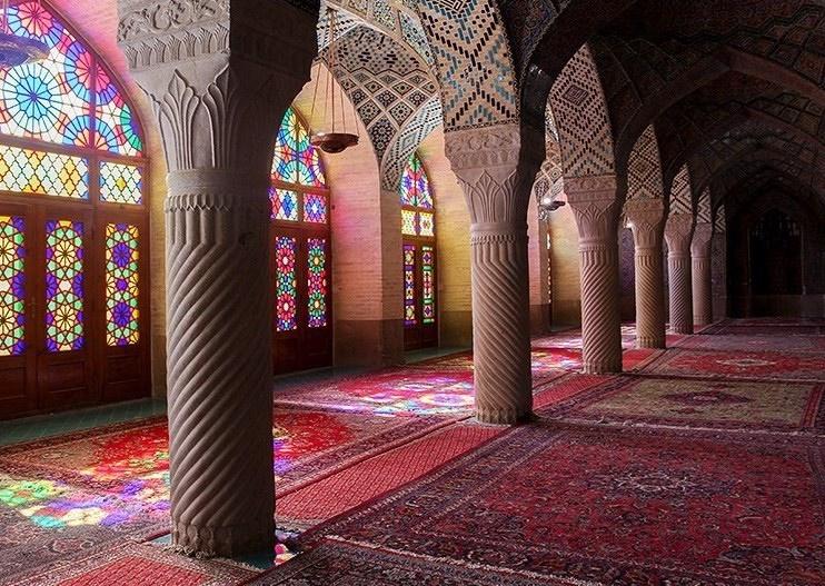 تصاویر | مسجد نصیرالملک در شیراز