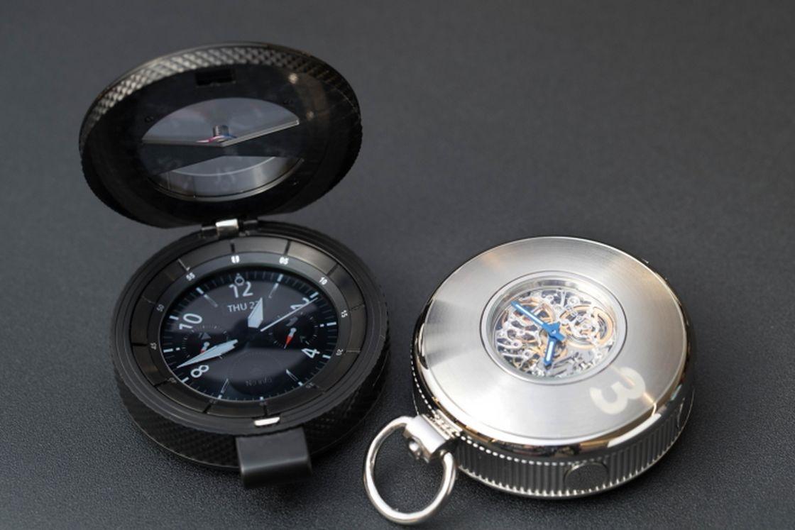 نمایش ساعت جیبی هوشمند سامسونگ در بزرگترین نمایشگاه ساعت جهان Baselworld