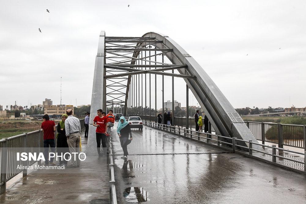 عکس پل اهواز