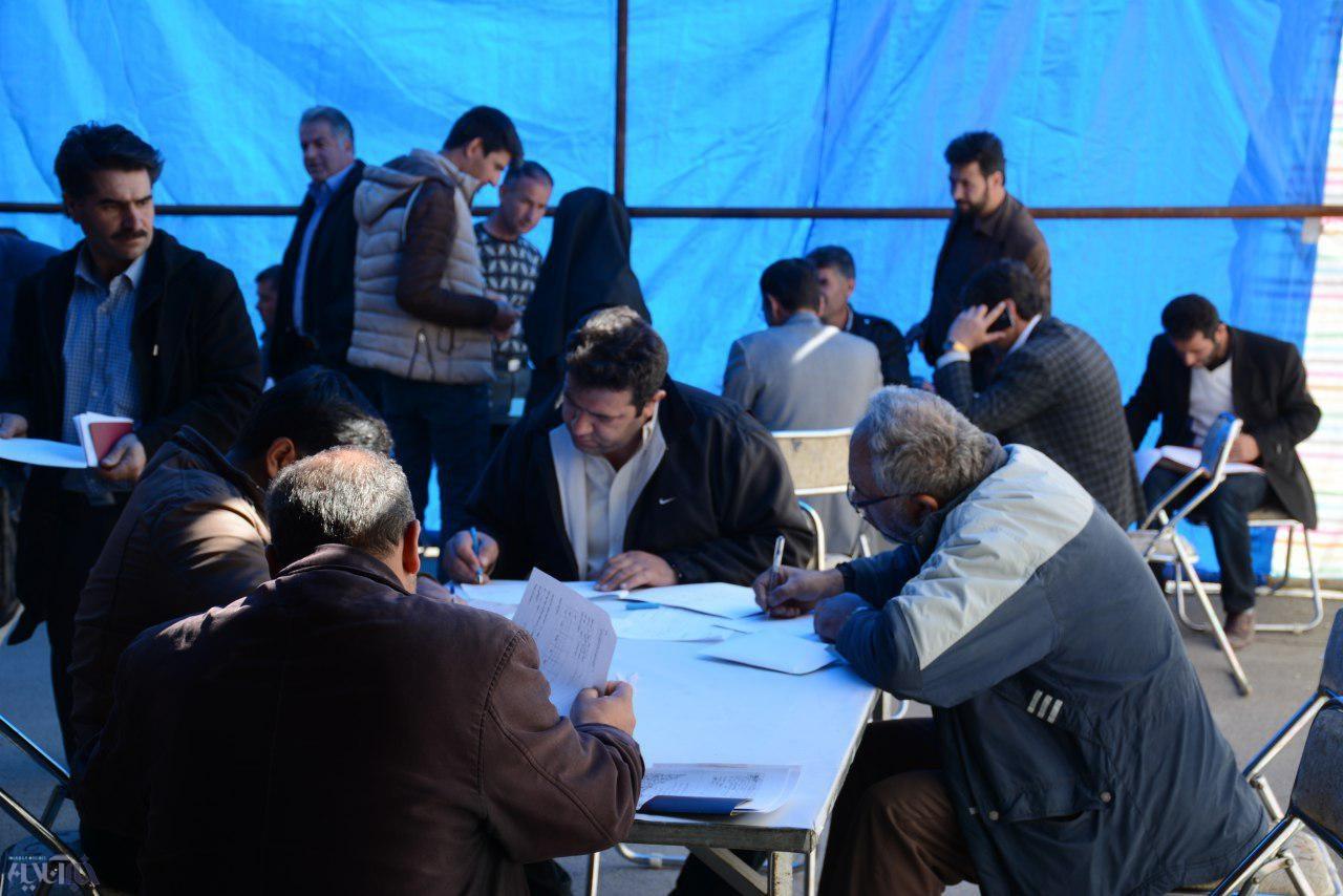 تصاویری از روند ثبتنام انتخابات شوراهای شهر و روستا در ارومیه