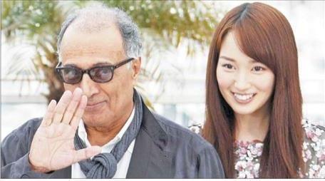 بازیگر زن فیلم عباس کیارستمی: غم بزرگی در سینه دارم