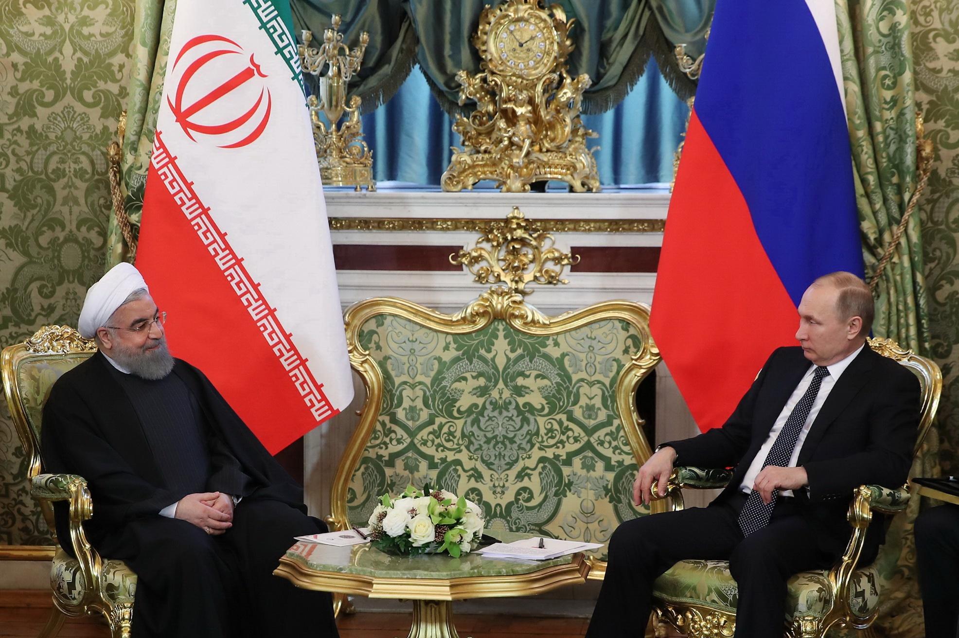 روحانی: هدف نهایی ایران و روسیه کمک به ثبات منطقه است