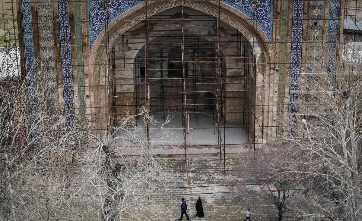 تصاویر | مسجدی که روی آتشکدههای دوران ساسانیان ساخته شد
