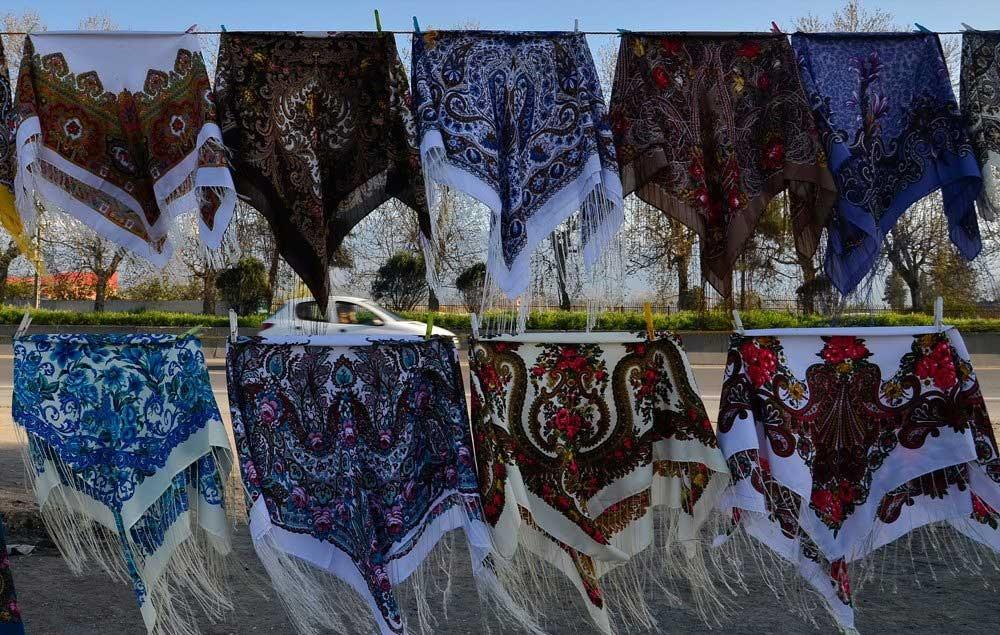 کاهش ۶۰ درصدی فروش شال و روسری در بازار تهران